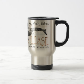 Save me the whale stainless steel travel mug