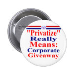 Save Medicare From Corporate Greed Button