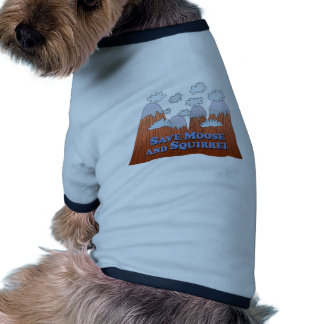 Save Moose and Squirrel - Dark Doggie Tee Shirt