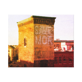 SAVE MOR FURNITURE ROOF TOP SERIES CANVAS PRINT