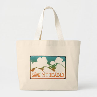 Save Mount Diablo Vintage Logo Tote