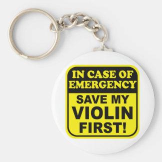 Save My Violin Key Ring