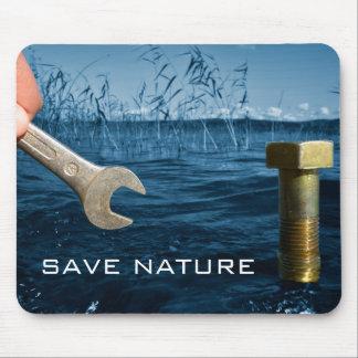 Save nature mousepad