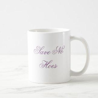 Save No Hoes Basic White Mug