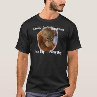 Save Orangutans Nature Conservation T-Shirt