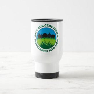 Save Our Cemeteries Travel Mug