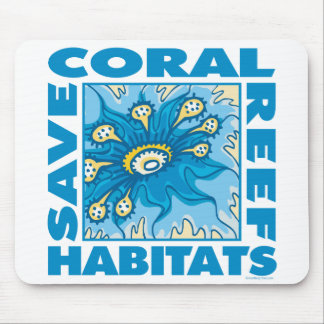 Save Our Coral Reefs Mouse Pad