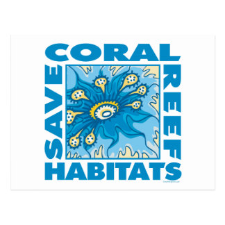 Save Our Coral Reefs Postcards