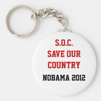 Save Our Country Keychain