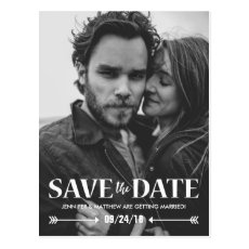 Save our Date Photo Wedding Card