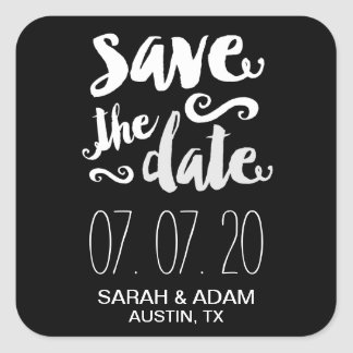 Save Our Date | Save the Date Sticker