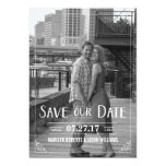 Save our Date wedding invitation