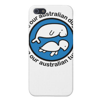 Save our dugong & turtle iPhone 5/5S covers