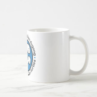 Save our dugong & turtles basic white mug