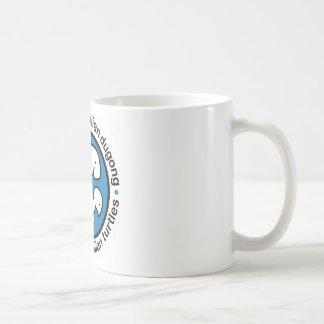 Save our dugong & turtles basic white mug