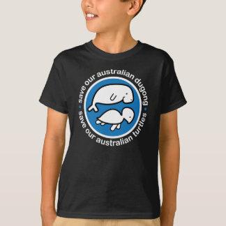 Save our dugong & turtles tee shirt