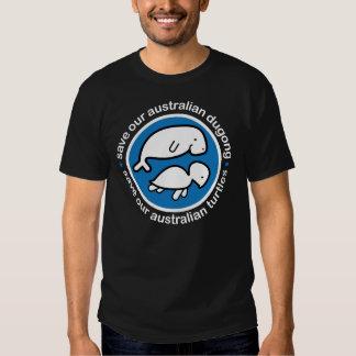 Save our dugong & turtles tshirt