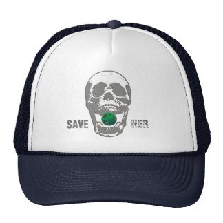 Save our earth hat