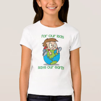 Save Our Earth Kids Shirt