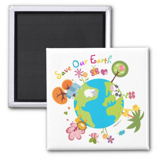 Save Our Earth Magnet