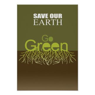 SAVE OUR EARTH PRINT