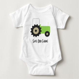 Save Our Farms Romper Baby Bodysuit