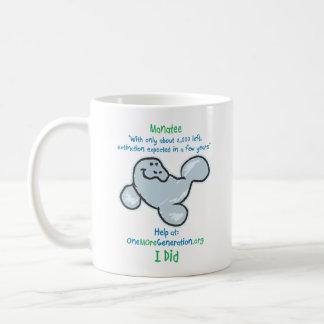 Save our Manatees Coffee Mugs