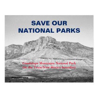 Save Our National Parks Resistance 1 Postcard