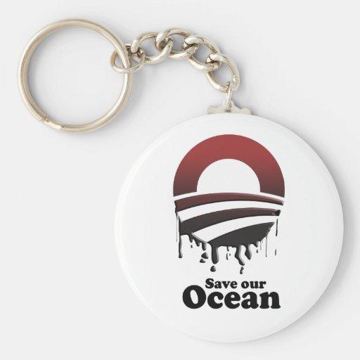 SAVE OUR OCEAN KEY CHAINS