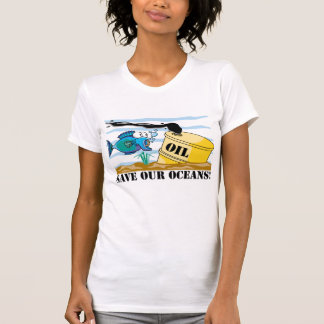 Save Our Oceans Earth Day T-Shirt Tshirts