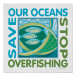 Save Our Oceans Print