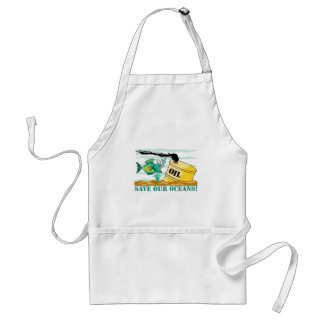 """""""Save Our Oceans"""" Standard Apron"""