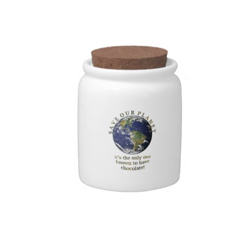 Save Our Planet Candy jar