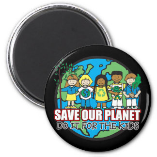 Save Our Planet Refrigerator Magnet