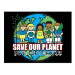 Save Our Planet Post Card