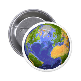 Save Our Planet Products & Designs! 6 Cm Round Badge