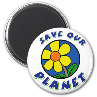 Save Our Planet T-Shirt Gifts Fridge Magnet
