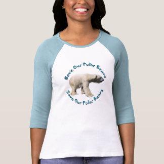 Save Our Polar Bears Wildlife Supporter Shirt
