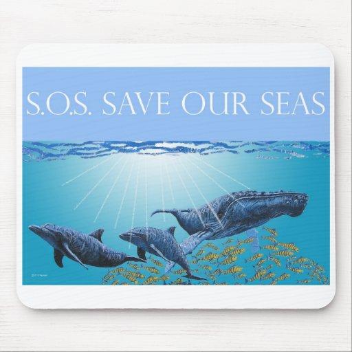 Save Our Seas Mousepad
