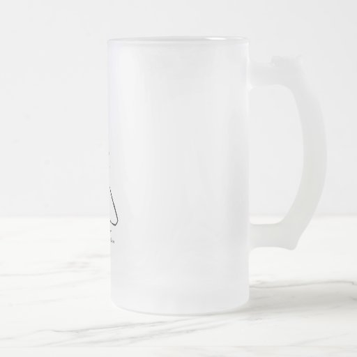 Save Our Sharks Frosted Glass Mug