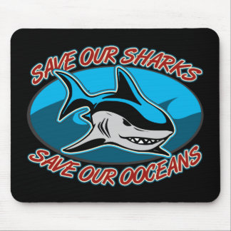 Save Our Sharks Mouse Mat
