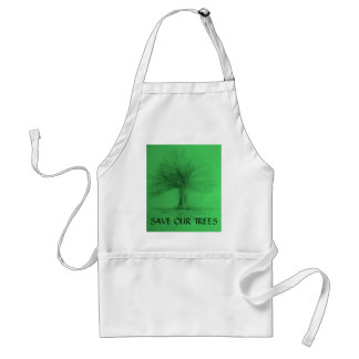 Save Our Trees  Apron