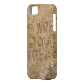 Save Our Trees iPhone Cover
