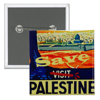 Save Palestine Pinback Buttons