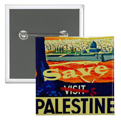Save Palestine Pinback Buttons