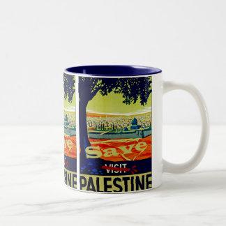 Save Palestine Two-Tone Mug