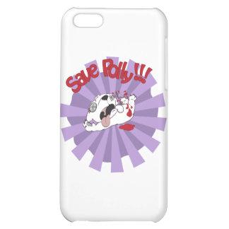Save Polly the Polar Bear iPhone 5C Cover