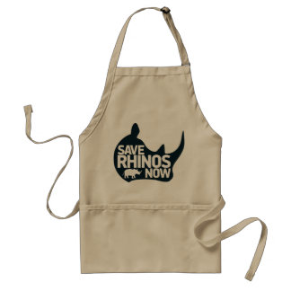 save rhinos now standard apron
