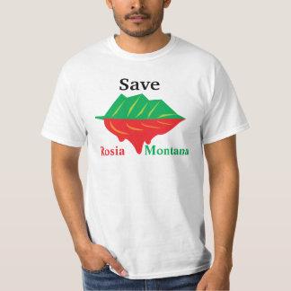 Save Rosia Monatana Front T-Shirt