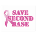 Save Second Base Post Cards